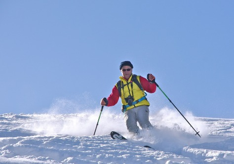 Wintersport in Pobershau